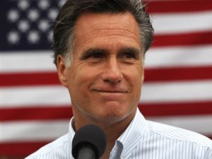 Romney: promptly exercising his property rights.