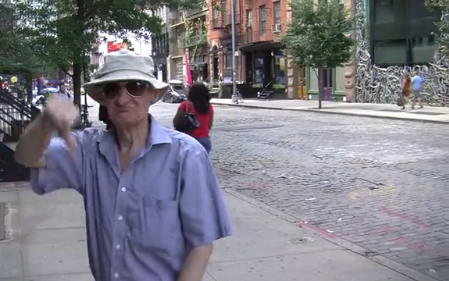 Cranky Old Neighbor Really Hates 40 Bond Street
