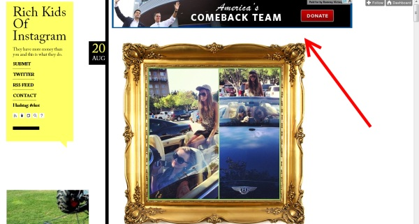 Know Your Ad-Demographic: Romney Campaign Advertising on 'Rich Kids of Instagram'