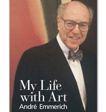 Emmerich's book, 'My Life with Art.' (Courtesy Rudder Finn Press)