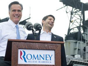 Veep of faith: Romney and Ryan. (Getty)