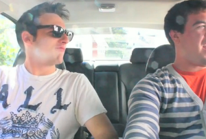 Riding in cars with bros? (Photo: Zimride)