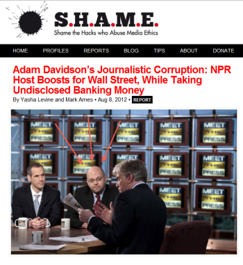 NPR <em>Planet Money</em> Host Adam Davidson Under Fire from Rogue Media Ethicists [Updated]
