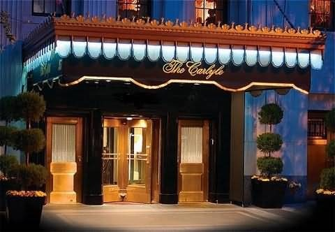 The Carlyle: where the costs of the high life are particularly high.
