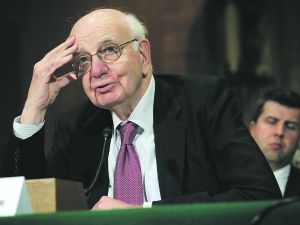 Paul Volcker. Photo by Alex Wong/Getty Images.