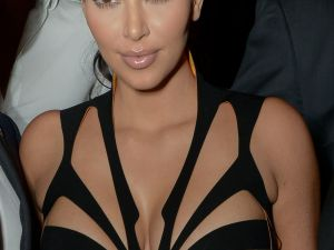 Kim Kardashian expect at FNO (Getty Images)