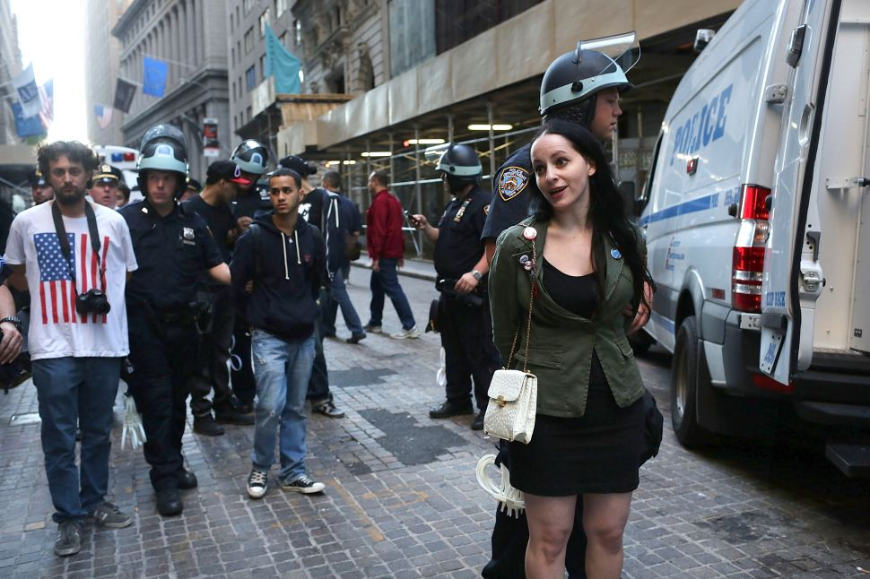 Update: Occupy Wall Street's One Year Anniversary Liveblog: The Arrests, the Music, the LiveStream and the Plan (Video)