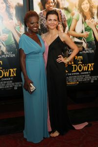 Viola Davis (left) and Maggie Gyllenhaal (Getty Images)
