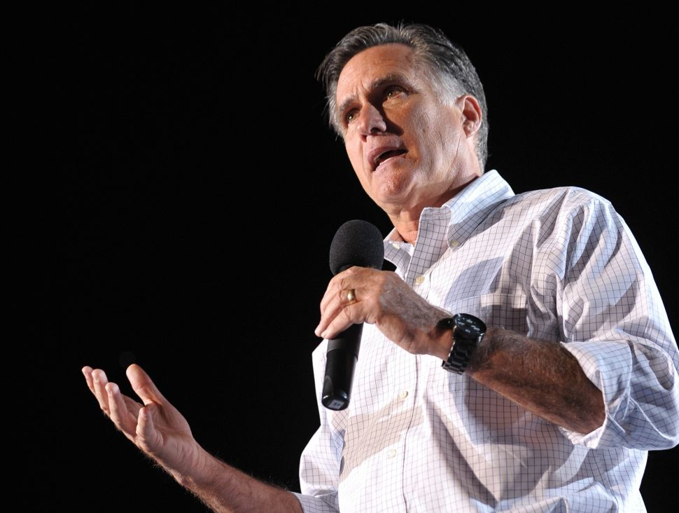Mitt Romney Is Waiting for His Bill Clinton 'Bounce'