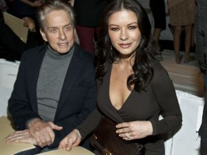 It is unclear whether Michael Douglas and Catherine Zeta-Jones kept their legs uncrossed...
