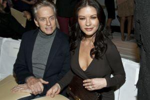 It is unclear whether Michael Douglas and Catherine Zeta-Jones kept their legs uncrossed...