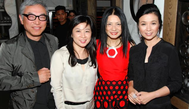 Jack Liu, Sandy Leung, Vivienne Tam and Annie Yau. (PMc)