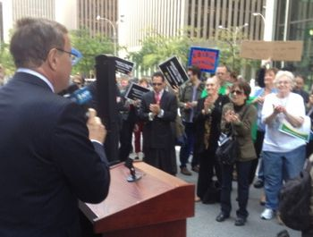 Activist Group Founded by Koch Brothers Takes on Occupy Wall Street in Midtown