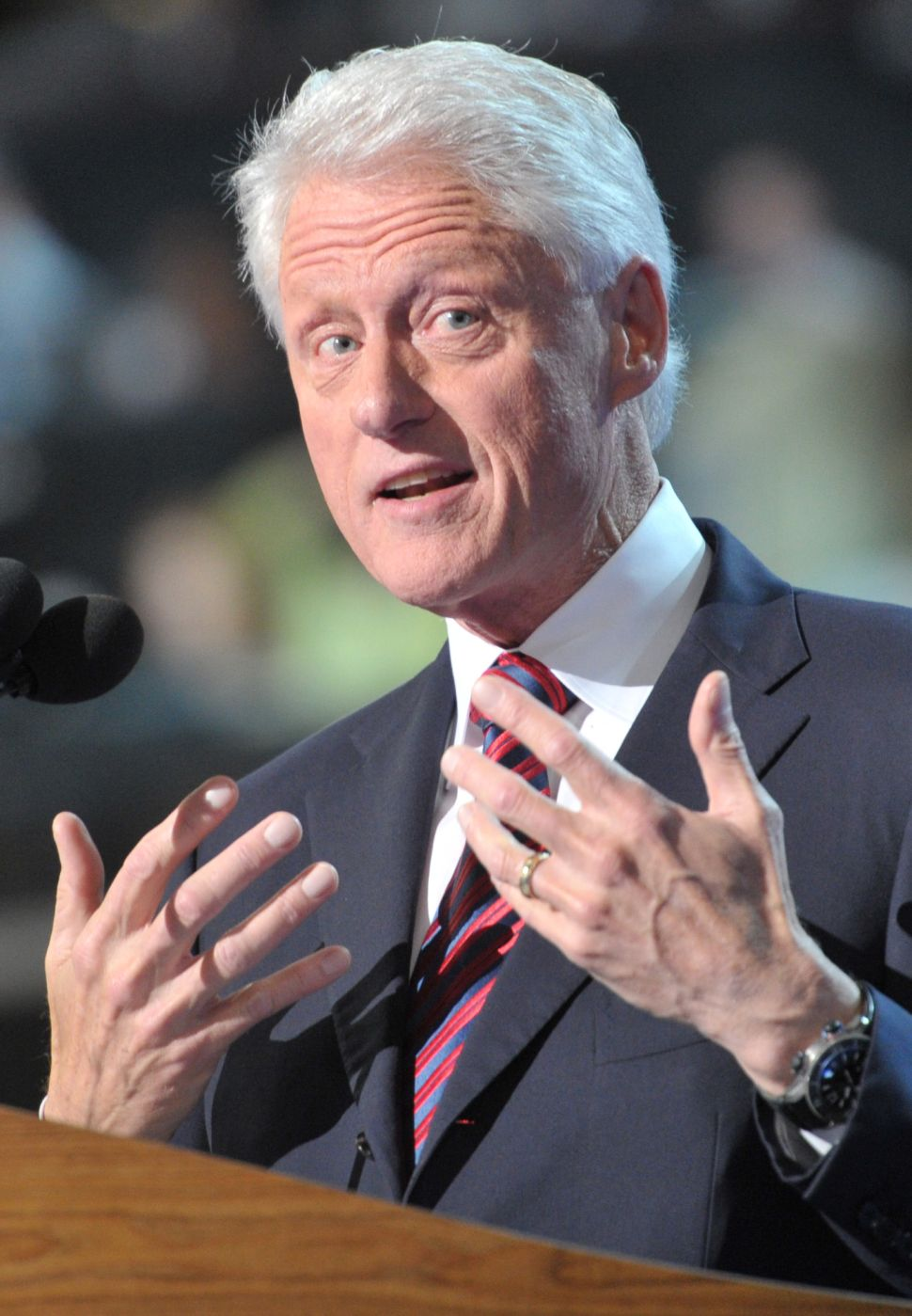 Clintons Endorse Bill de Blasio