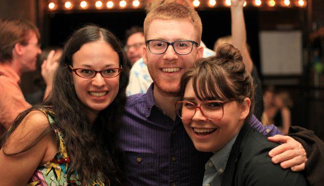 Rachel Fershleiser, Nick Douglas and Molly McArdle