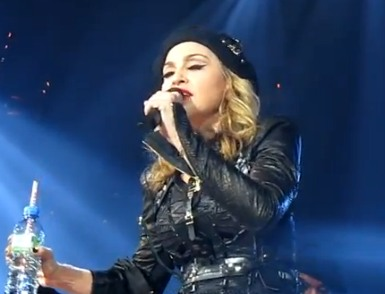 Madonna Wants You to Vote for 'the Black Muslim in the White House' (Video)