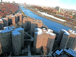 Public Housing in Manhattan.
