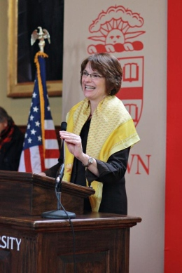 Brown University President Christina Paxson Celebrates New Job With Fi-Di Condo