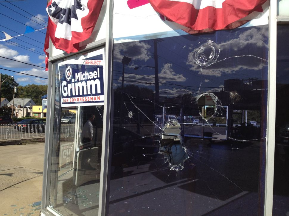 Congressman's Campaign Office Allegedly Vandalized and Burglarized on Staten Island