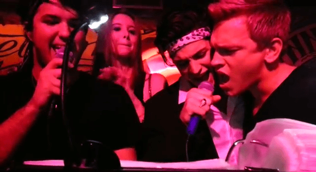 Watch Boytoys Peter Brant, Jr. and Nick Gruber Perform Karaoke at Chez André [Video]