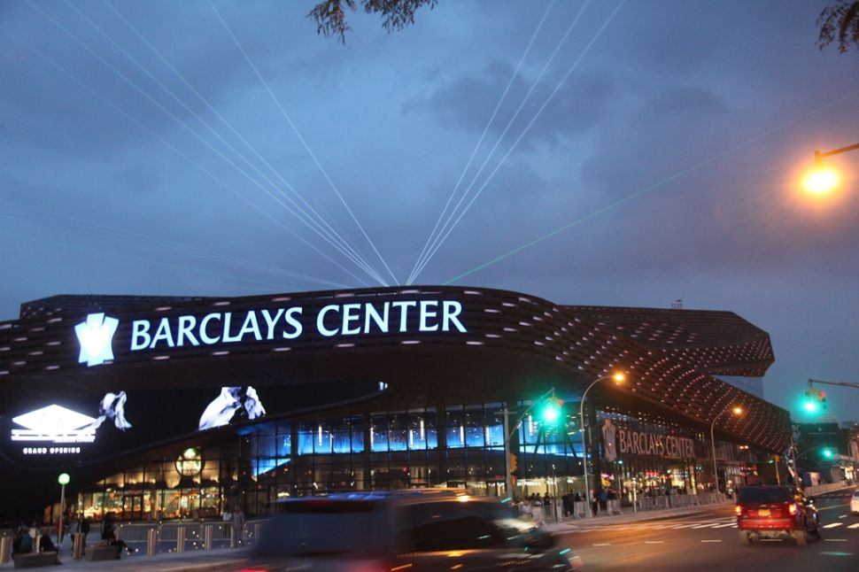 A Party, a Vigil, a Protest, a Concert: the Festivities and Fanaticism of the Barclays Center Opening