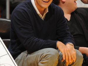 Ari Emanuel at a Lakers game in 2011. (Andrew D. Bernstein/NBAE/Getty Images)