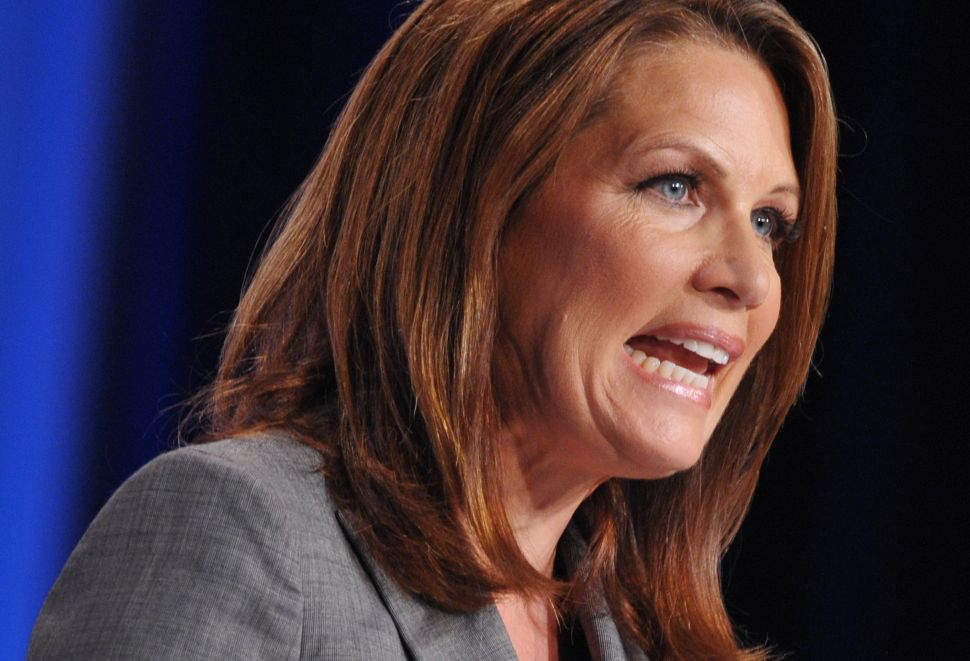 Michele Bachmann Backs Down on Marriage Equality