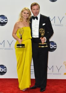 Claire Danes and Damian Lewis (Getty Images)