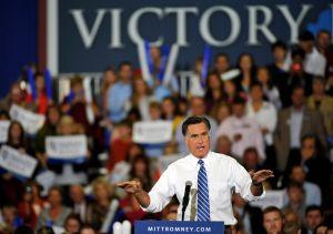 Romney. (Rainier Ehrhardt/Getty Images)