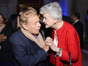Jerry Stiller and Angela Lansbury. (Photo credit: Getty Images).