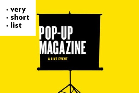 The Live, One-Night-Only 'Pop-Up Magazine' Returns