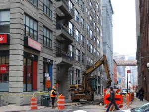Keep digging. (DumboNYC)