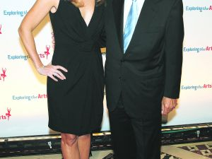 Susan Benedetto and Tony Bennett. (Eugene Mim/Patrick McMullan)
