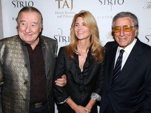 Sirio Maccioni, Susan Bennett and Tony Bennett (Photo - Dustin Wayne Harris/Patrick McMullan)