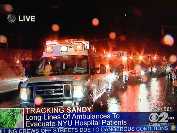 NYU Hospital Evacuated When Backup Generators Fail