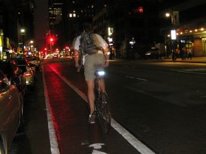 What's good for bicyclists is good for business? (Kristine Paulus, flickr)