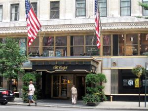 Both the Carlyle and the Waldorf-Astoria are fully booked for the storm.
