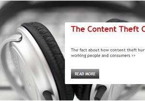 Screengrab, Copyrightinformation.org