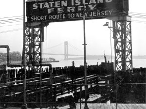 """Once the Verrazano Narrows Bridge was built the Brooklyn Ferry, at 69th Street, was no longer the, """"short route to New Jersey"""". TOMPHOTOS"""