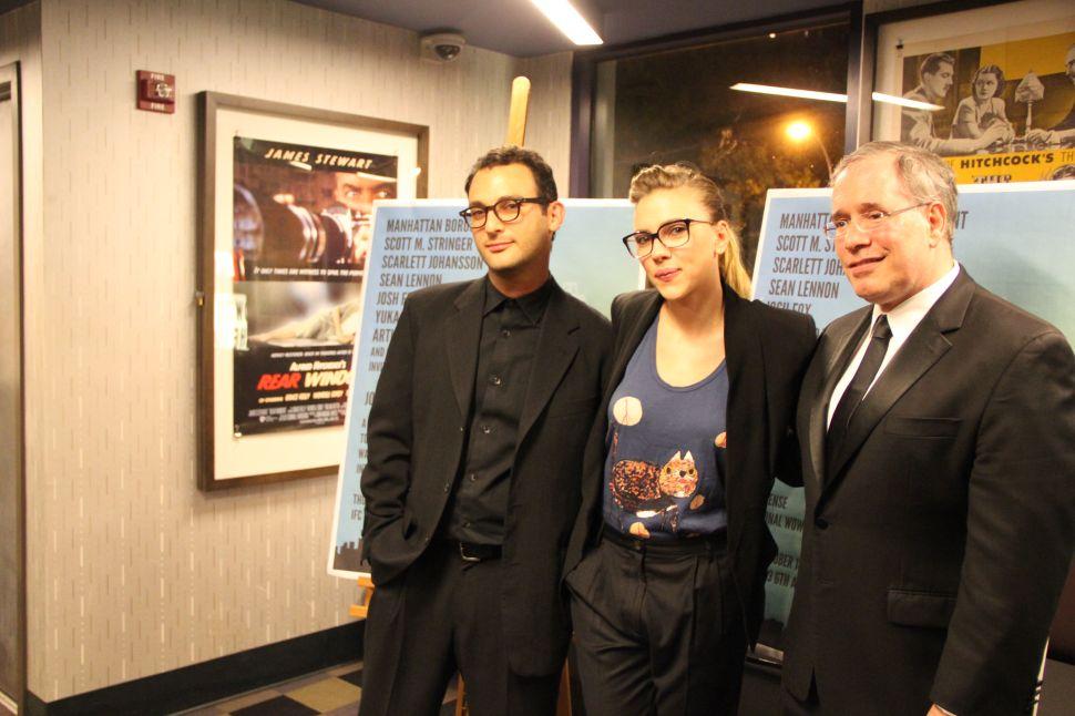 Scarlett Johansson and Sean Lennon Frack Off at <em>Gasland</em> Benefit