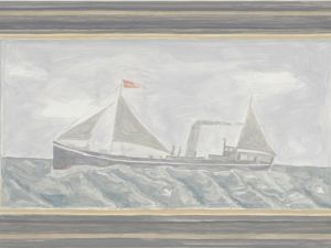 'Framed Painting: Boat' (2012) by Fuchs. (Courtesy the artist)