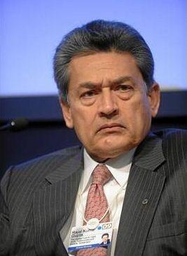 Mr. Gupta. (World Economic Forum/Michael Wuertenberg)