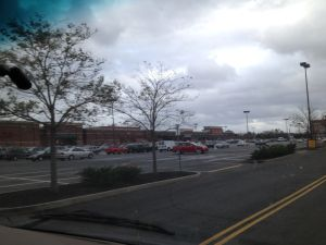 Gateway shopping center in Brooklyn was packed.