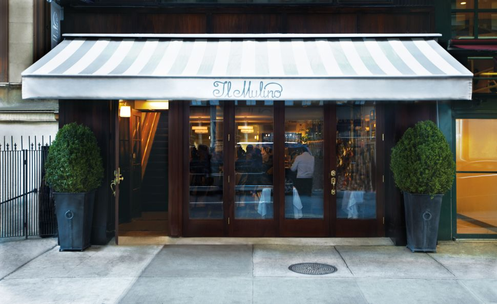 Il Mulino's Special Sauce: Elite New York Noodlery Nixed In the Stix,Thrives On the UES