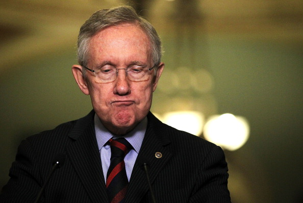 Harry Reid Misidentified as a Republican After Car Crash