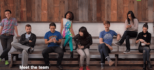Kickstarter Shows Off Their Beautiful Faces on New Team Page