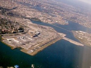 Local politicians set out to promote community interests during La Guardia overhaul. (Photo: Wikimedia)