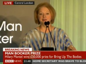 Hilary Mantel (Photo credit: Henry Holt's Twitter)