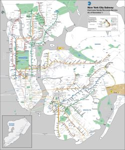 Click to view the subway map in full. (Photo: MTA)