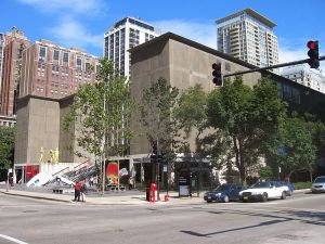 The MCA Chicago. (Courtesy Wikipedia)